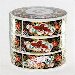 有田焼の陶器の重箱