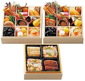 〈吟月〉個食おせち二客と寿司セット