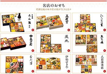 名店・人気ブランドラインナップ1