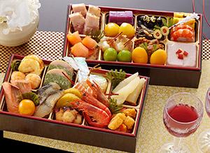 北海道 函館「花びし」 二段重 絢珠