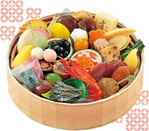 ランキング1位:京のおせちをオードブルで!