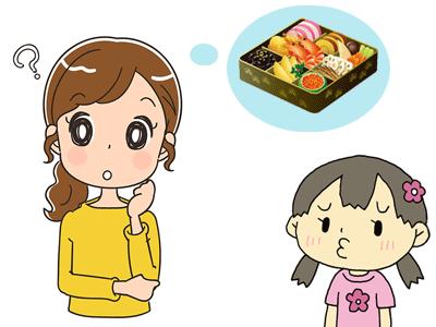 おせち料理の由来 子供