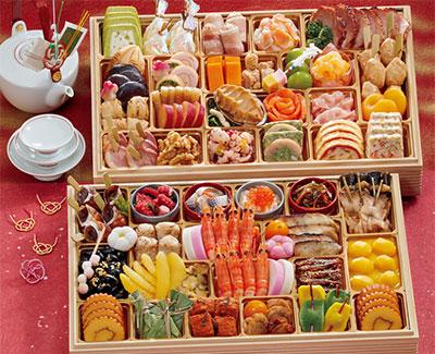 和洋おせち2段重「祭り膳」