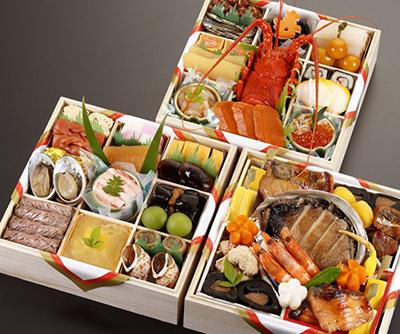 伝統的な京料理おせちがリーズナブルに求められる